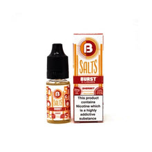 Load image into Gallery viewer, 10mg Burst Nic Salts 10ml (50VG/50PG)