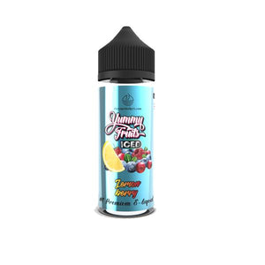 Yummy Fruits Iced by The Vape Makers 100ml Shortfill 0mg (70VG/30PG)