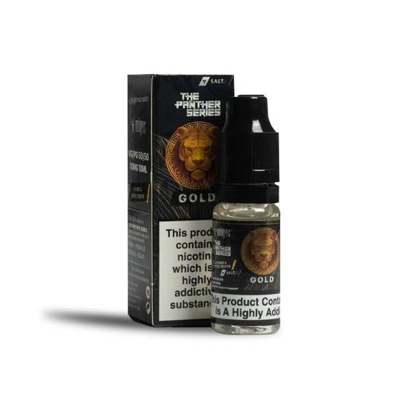 10mg Gold by Dr Vapes 10ml Nic Salt (50VG-50PG)