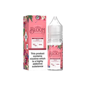 10mg Bloom Nic Salt 10ml (50VG/50PG)