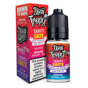 10MG Doozy Tropix Salts by Doozy Vape Co (50VG/50PG)
