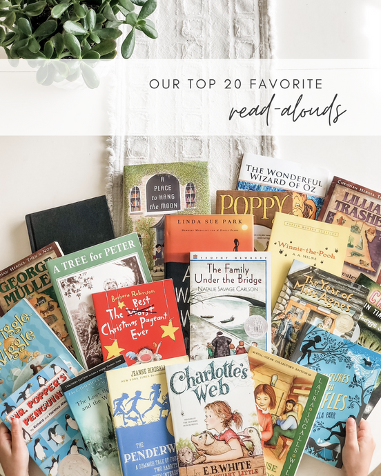Our Top 20 Favorite Read-Alouds (so far)