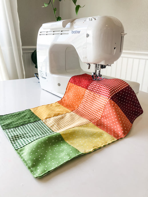 Teaching Kids to Sew with a Sewing Machine