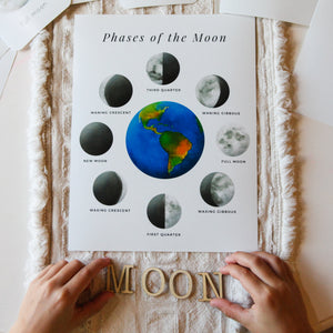 Phases of the Moon - Printable Mini Unit Study