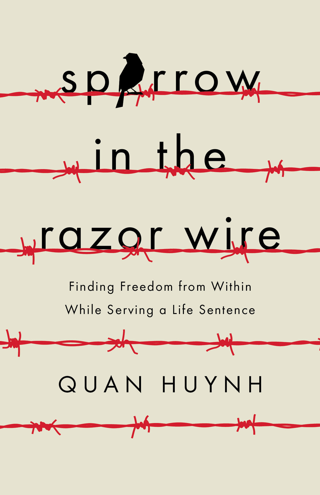 Sparrow in the Razor Wire by Quan Huynh [BUY 10+ GIVE 10+]