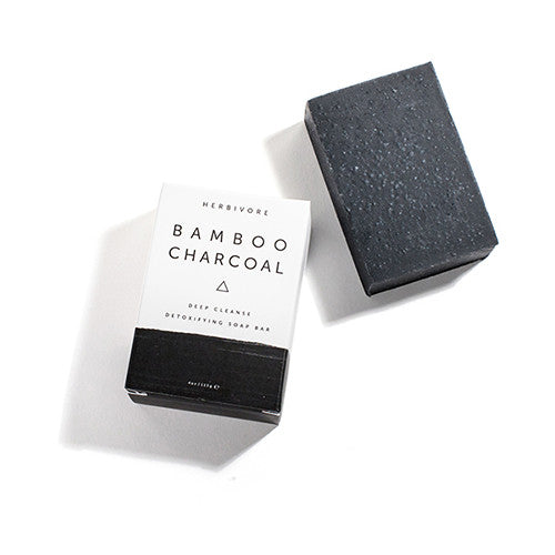 HERBIVORE BOTANICALS | Bamboo Charcoal Cleansing Bar Soap