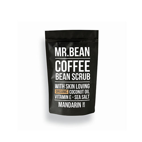 MR. BEAN COFFEE BEAN SCRUB | Mandarin