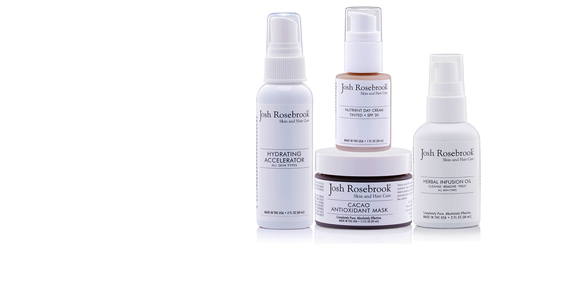 Josh Rosebrook Skin and Hair Care