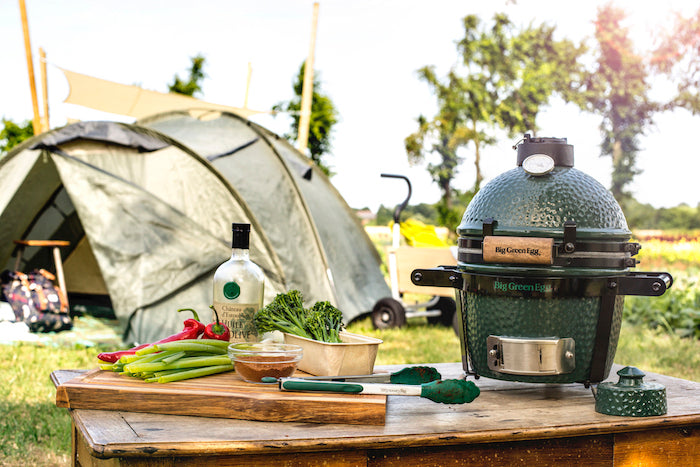 Mini Big Green Egg Kamado + Stand