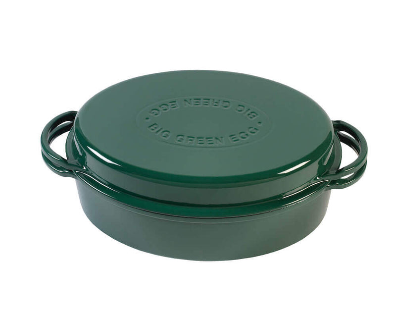 Grüner Dutch Oven oval (5,2 Liter)