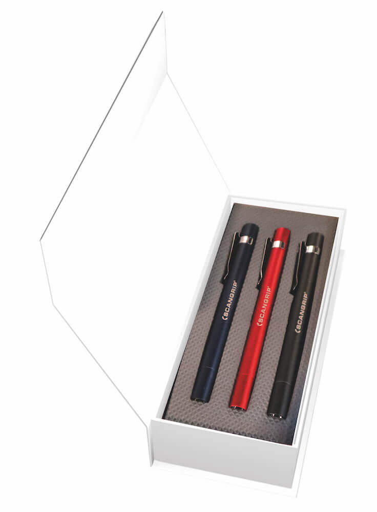 Flash Pen Set | 3 Stück