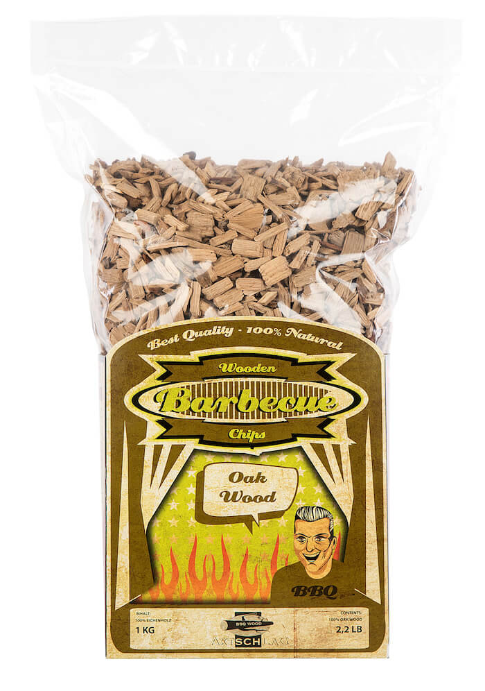 Räucherchips Eiche (1kg)