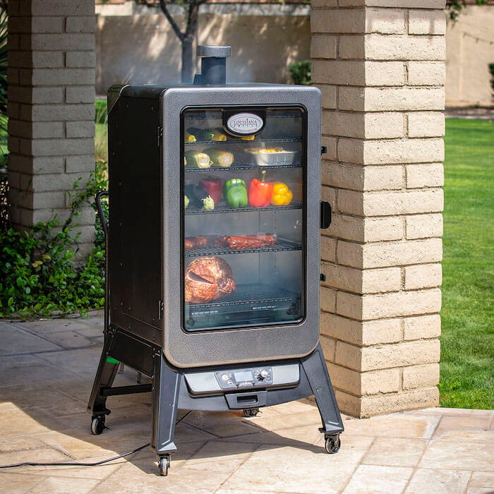 Vertical digital Pelletsmoker Pelletgrill