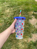 PRIDE Confetti Color Changing Cups
