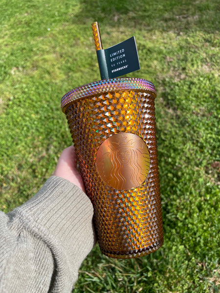 Grande Gold Copper Studded 50th Anniversary Limited Edition Cold Cup