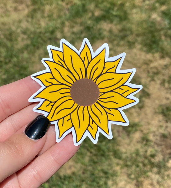 Sunflower Sticker