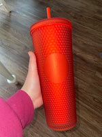 Studded Red Tumbler