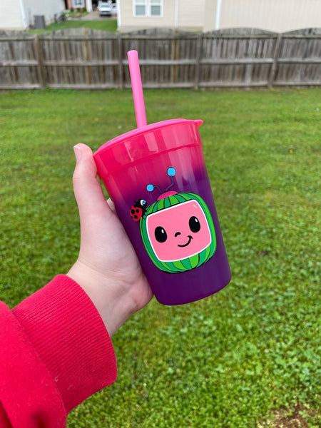 Cocomelon Color Changing Toddler Cup