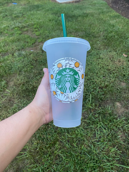 Daisy Starbucks Cold Cup