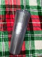 Silver Gridded Limited Edition Starbucks 2020 Holiday Tumbler