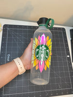 Holographic Sunflower Waterbottle