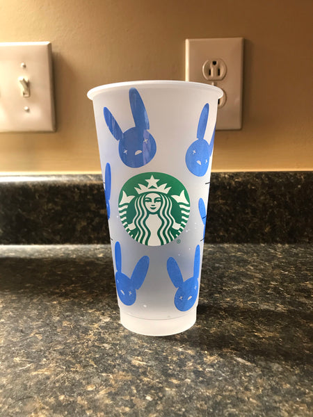 Color Changing Bad Bunny Cold Cup