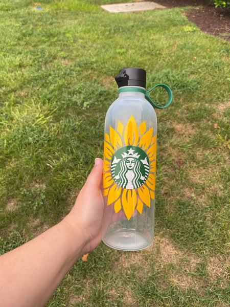Yellow Sunflower Waterbottle