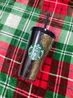 Black and Gold Limited Edition 2020 Holiday Tumbler