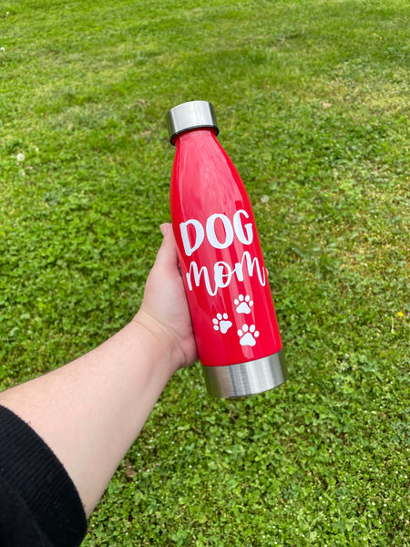 Dog Mom Water Bottle