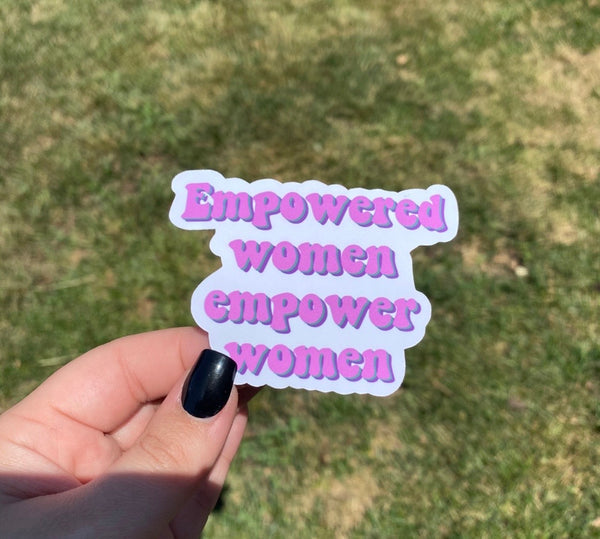 Women Empowerment Sticker