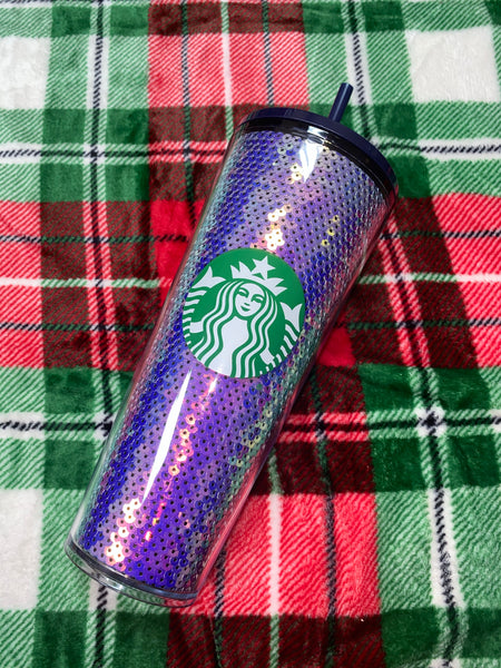Purple Sequin Limited Edition 2020 Holiday Tumbler