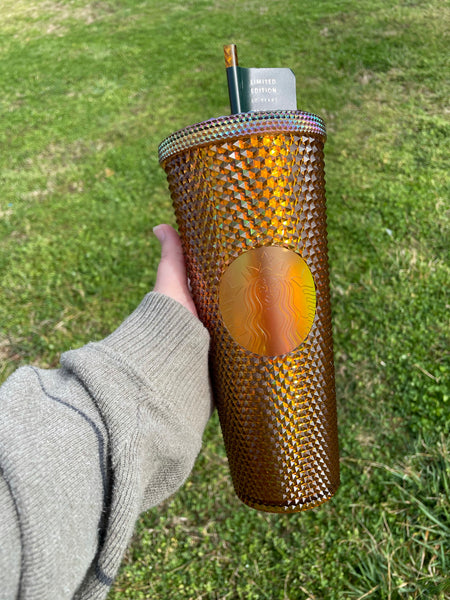 Venti Gold Copper Series Studded 50th Anniversary Limited Edition Cold Cup