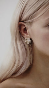 Modern Stud Earrings For Wedding by Amelie George Bridal