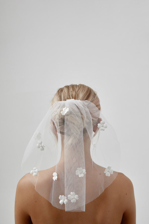 Blusher Veil by Amelie George Bridal