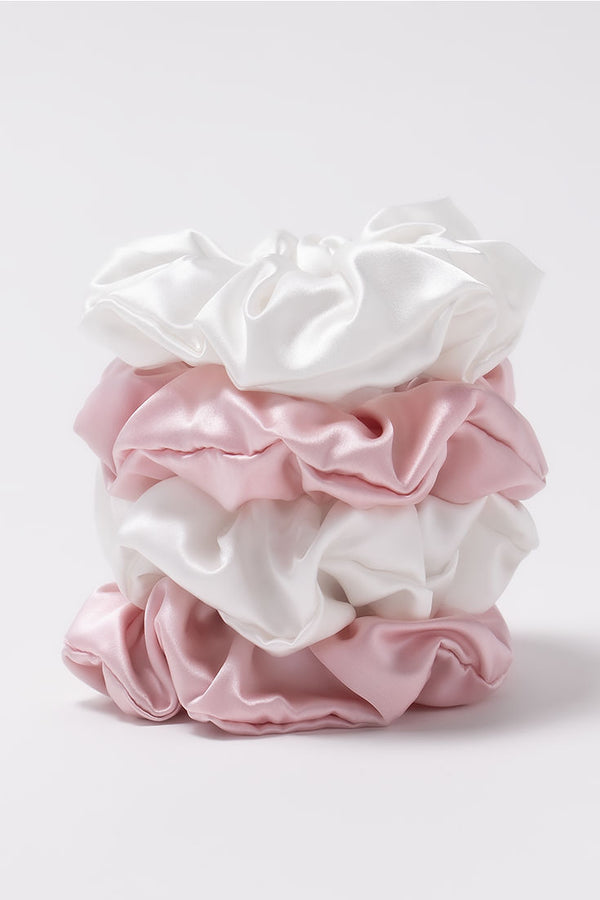 Silk Scrunchie Australia Pink by Amelie George Bridal