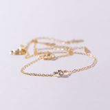 Something Blue Bridal Accessory by Amelie George Bridal, Gold Anklet