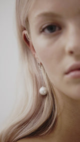 Pearl Drop Wedding Earrings by Amelie George Bridal