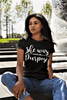 She was Created with a Purpose Christian T Shirt