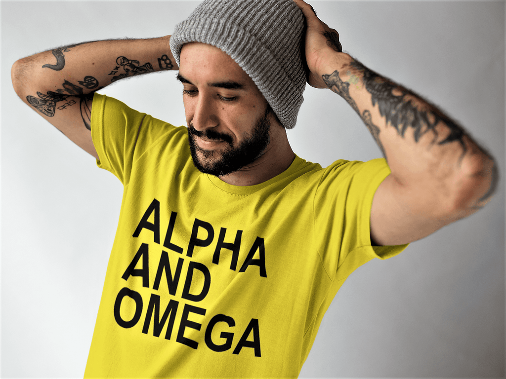 Alpha and Omega Unisex T shirt