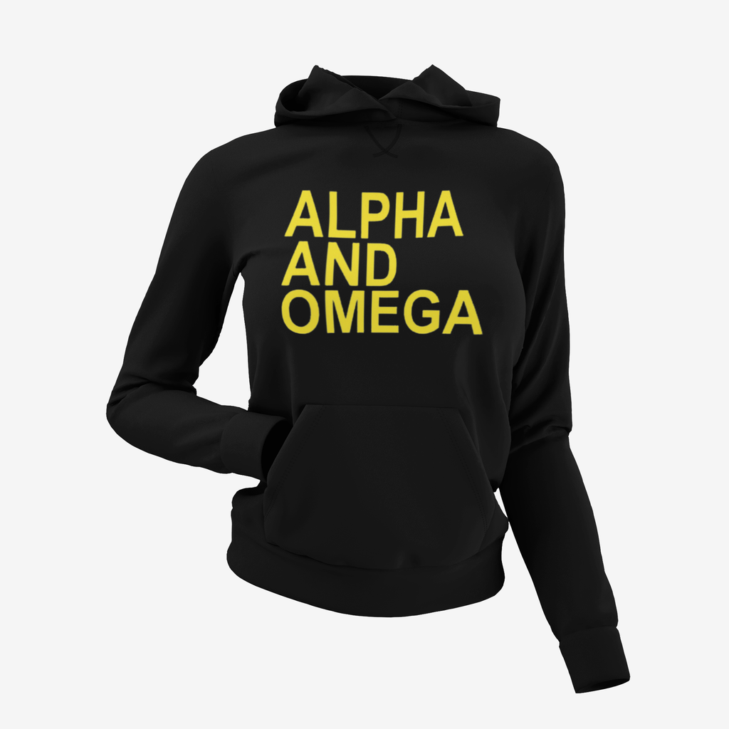 Alpha and Omega Hoodie Unisex