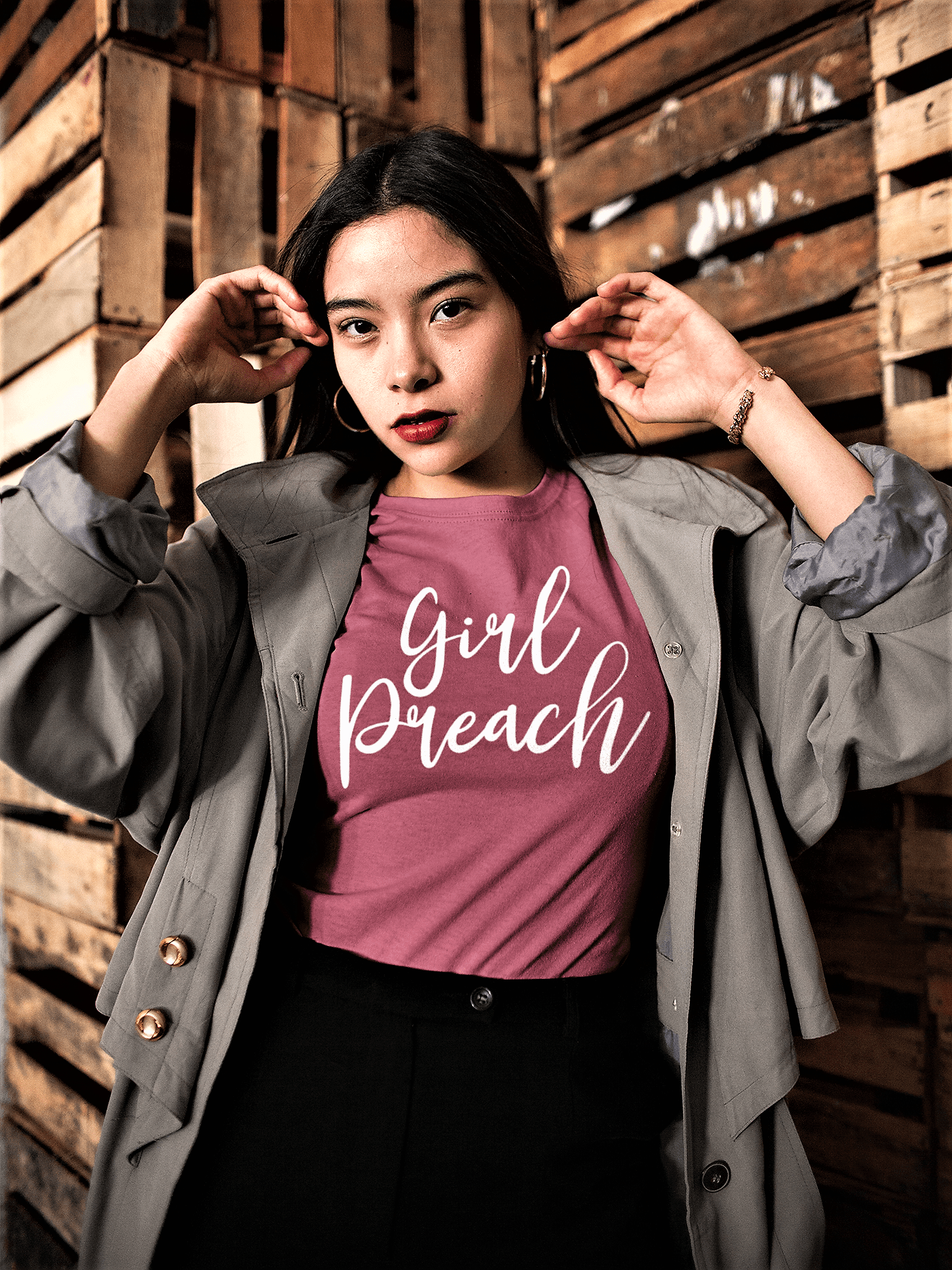 Girl Preach T Shirt ~ You have a story to tell!