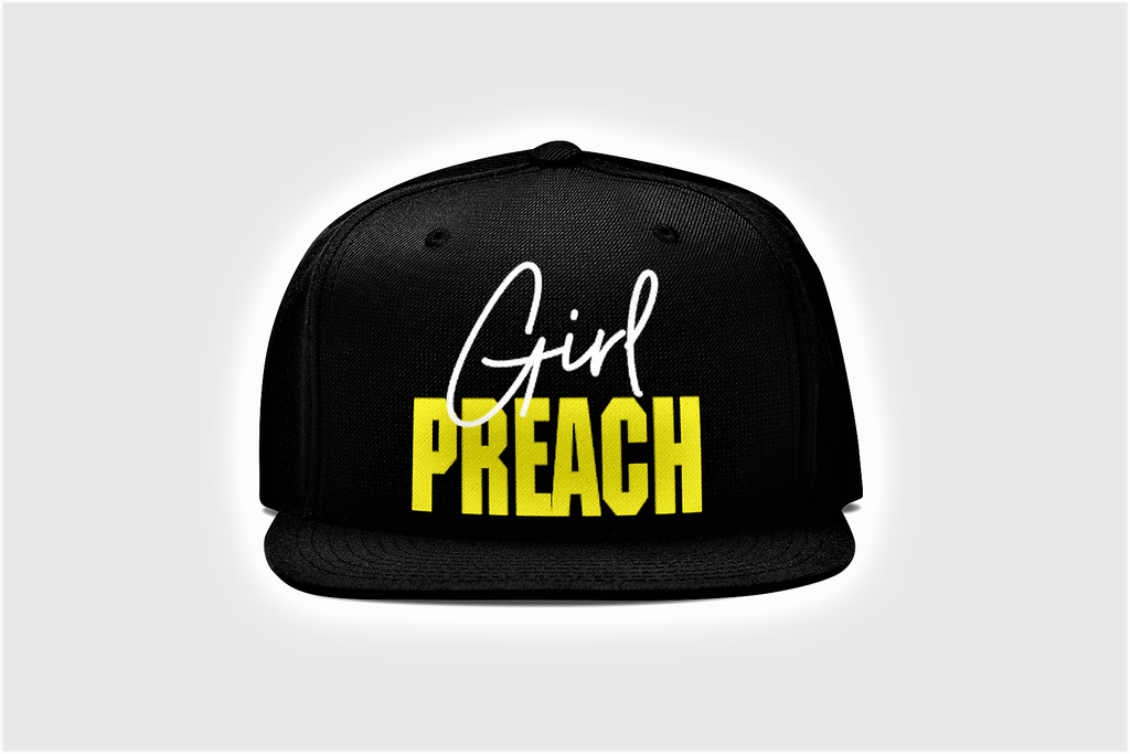 Girl Preach adjustable back Hat