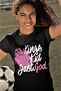 Kings Kid Just God for Girls Shirt