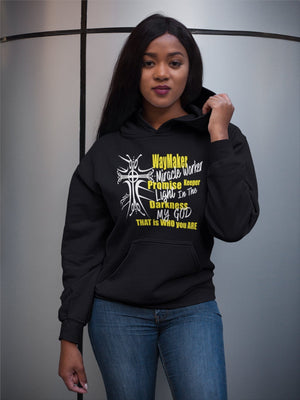 "Christian WayMaker Hoodie for Women or Men ""PreOrder"" God's Girl"
