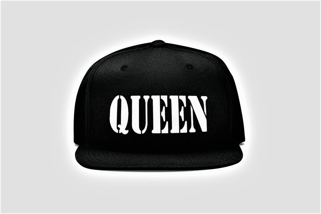 Black and Ice Queen Hat