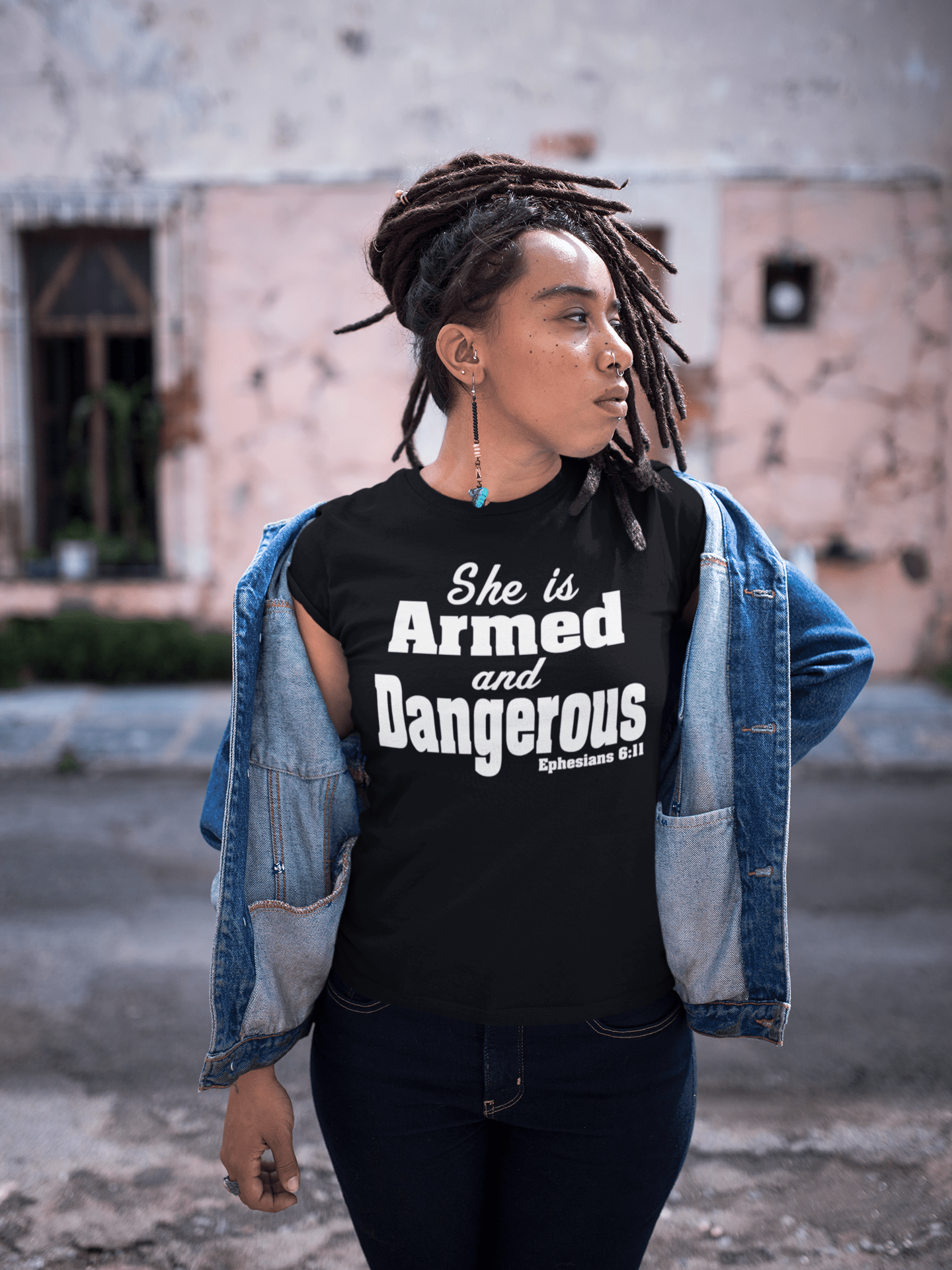 She is Armed and Dangerous Shirt