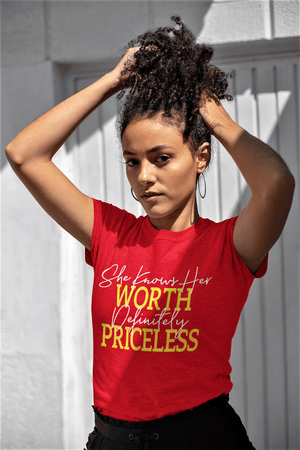 She Knows Her Worth Shirt