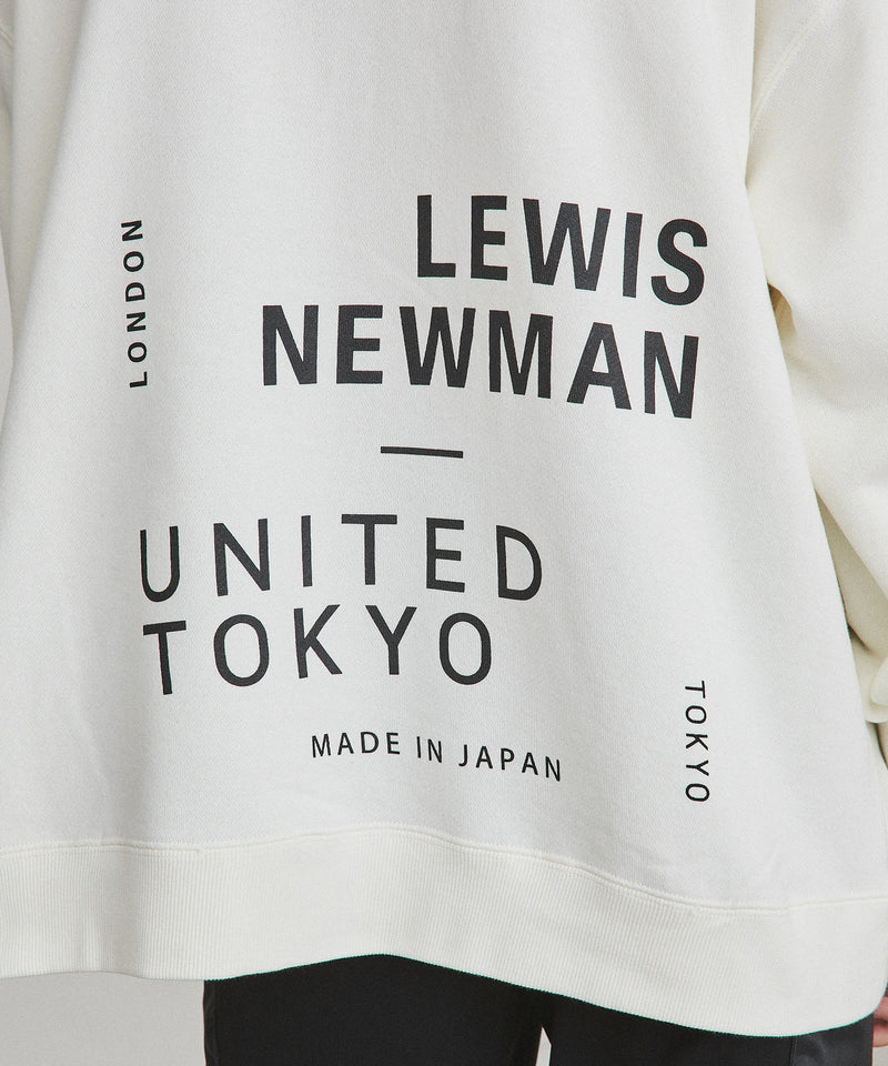 LEWIS NEWMAN × UNITED TOKYO PARKA【White】