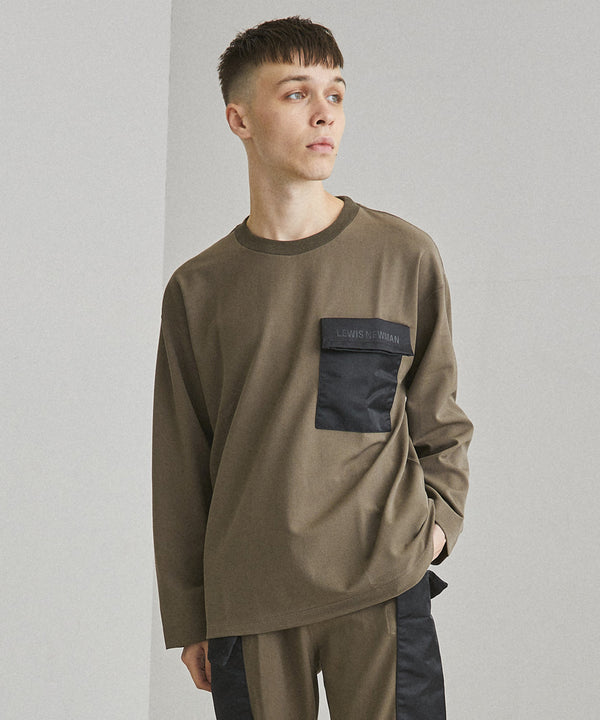 LEWIS NEWMAN × UNITED TOKYO PULLOVER【Beige】
