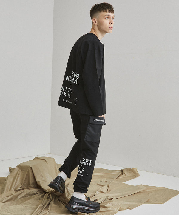 LEWIS NEWMAN × UNITED TOKYO PULLOVER【Black】